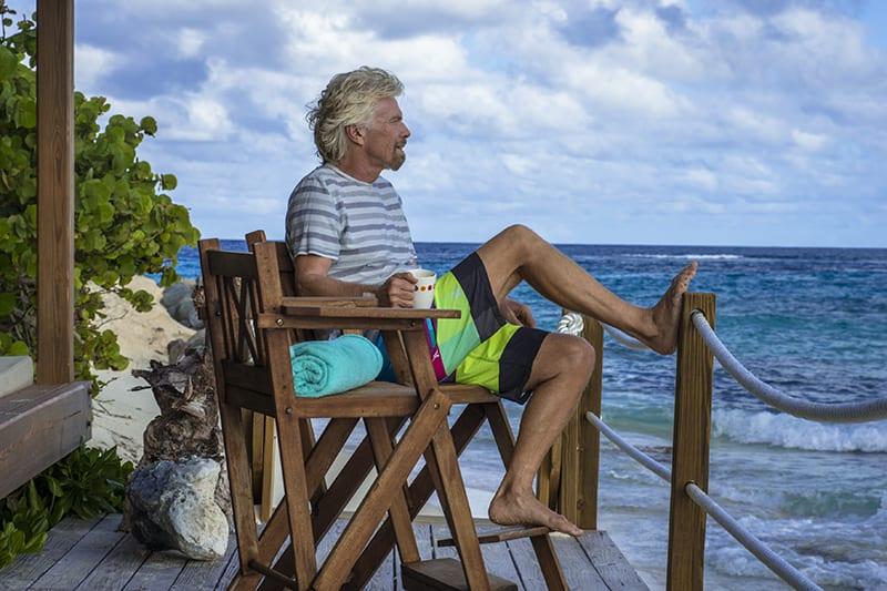 Richard à Necker, son Île...