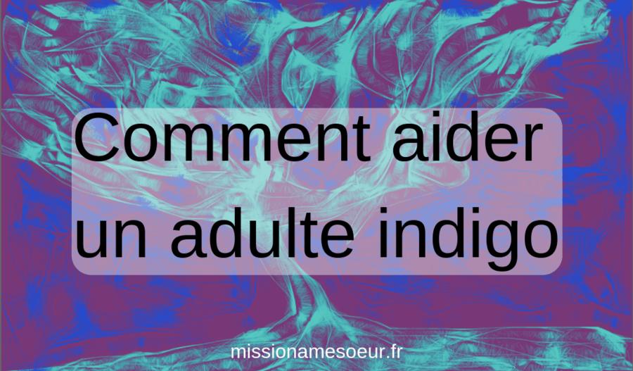 Comment aider un adulte indigo missionamesoeur.fr