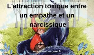L'attraction toxique entre un empathe et un pervers narcissique